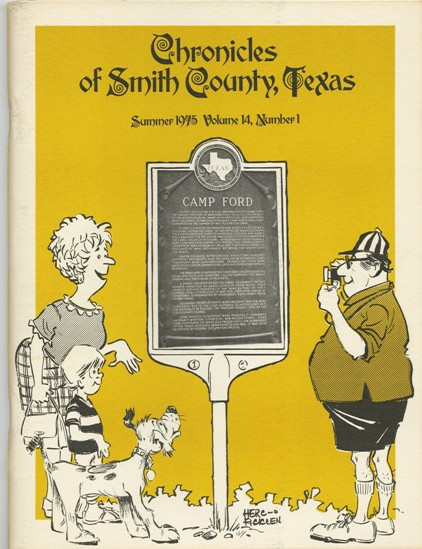 Chronicles of Smith County, Texas, Volume 14 Issue 1, Summer 1975