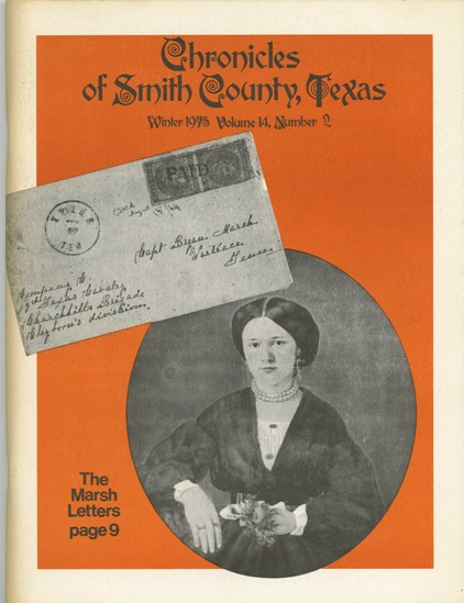 Chronicles of Smith County, Texas, Volume 14 Issue 2, Winter 1975