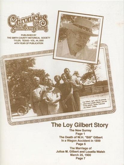 Chronicles of Smith County, Texas, Volume 44, 2005.