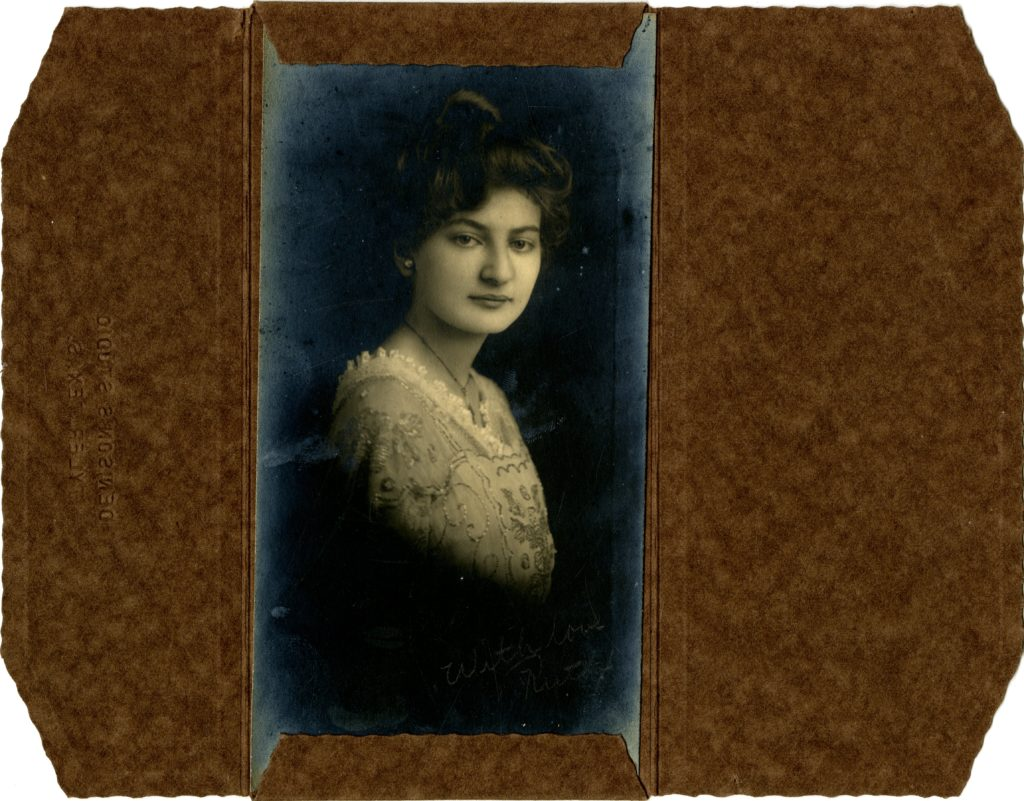 Denison's Studio, Tyler Texas - Ruth Hambrick - Circa 1915. [Object Id: BSF062]