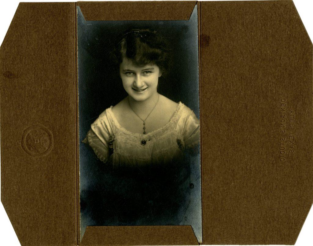 Denison's Studio, Tyler Texas - Louise Marsh - Circa 1915 - [Object Id: BSF060].