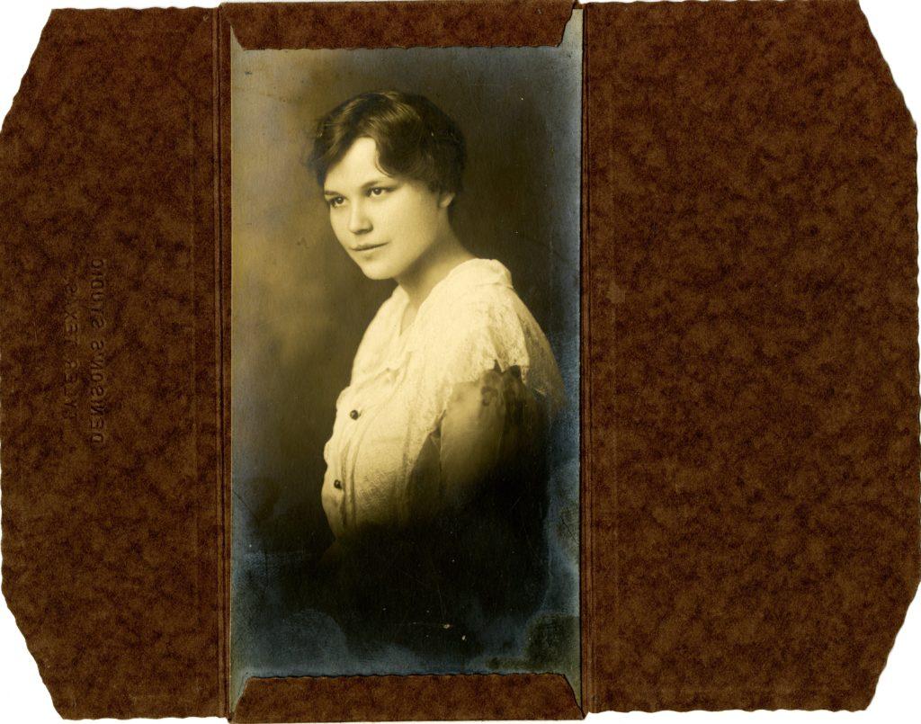 Denison's Studio, Tyler Texas - Lovie Roberts - circa 1915. [Object Id: BSF058.]